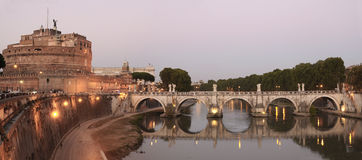 St Angelo castle and bridge Royalty Free Stock Image