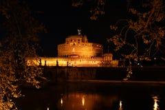 St Angelo kasztel Zdjęcia Royalty Free