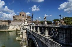 St Angelo, Rome, Italie de château images libres de droits