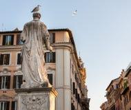St Angelo statua w Rzym W?ochy zdjęcie royalty free
