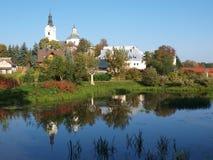 St Ann`s Basilica, Kodeń, Poland Stock Images