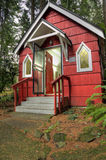 St Ann's Chapel in the woods, Portland OR. Royalty Free Stock Photos