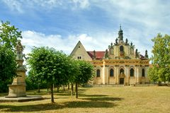 St Ann s church in Mnichovo Hradiste Royalty Free Stock Image