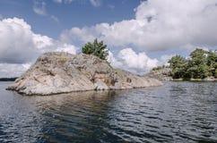 St Anna Archipelago Foto de Stock Royalty Free
