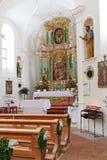 St Anna Kirche (St. Annakirche) in Österreich Stockfotos