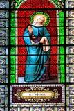 St. Anna witraż fotografia stock