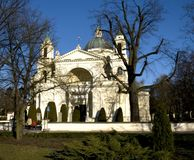 St. Anne�s Church in Wilanow, Warsaw, Poland Royalty Free Stock Photography