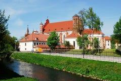 ST Anne και εκκλησία Bernardinu στην πόλη Vilnius Στοκ εικόνα με δικαίωμα ελεύθερης χρήσης