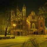 ST Anne και ST Bernardino Churches Στοκ Εικόνα