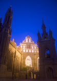 St. Anne and Bernardine Monastery, Vilnius Stock Image