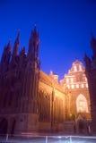 St. Anne and Bernardine Monastery, Vilnius Stock Images