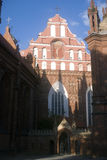 St. Anne and Bernardine Monastery, Vilnius, Lith. Stock Photo