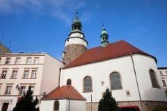St. Anne Chapel in Jelenia Gora Stock Images