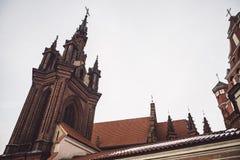 St Anne Kirche und Bernardine Monastery lizenzfreies stockfoto