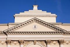 St Anne Kirche in Warschau lizenzfreie stockfotos