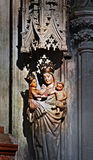 St. Anne with Madonna and Child Stock Image