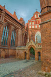 St Anne's and Bernadine's Churches in Vilnius, Lithuania Stock Photo