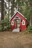 St Anne's Chapel in the woods, Portland OR. Royalty Free Stock Images