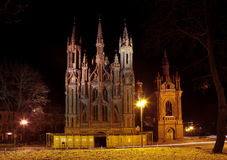 St. Anne's Church. In Vilnius, Lithuania Royalty Free Stock Image