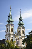 St. Anne's Church, Budapest. 4 Stock Photography