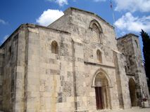 St Anne's Church, Jerusalem Royalty Free Stock Images