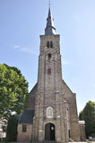 St. Anne's Church,  located in the Belgian city of Bruges Royalty Free Stock Photo
