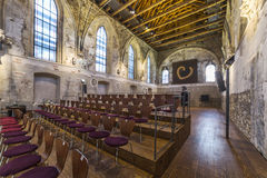 St. Anne's Church in Prague, interior Stock Images