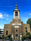 St Anne's Church, Soho, London Stock Image