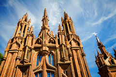 St. Anne's Church towers Royalty Free Stock Images