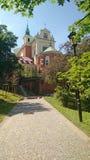 ST. ANNE'S CHURCH - Warsaw - Poland stock photos