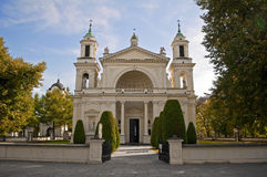 St. Anne's Church, Wilanow Palace. Stock Image