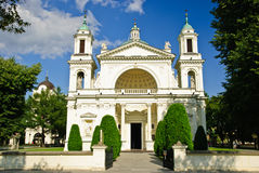 St. Anne's Church in Wilanow, Warsaw Stock Photography