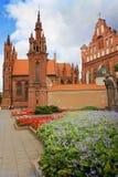 St. Anne in Vilnius royalty free stock photos