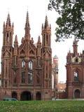 St. Annes Church and Bernardine Monastery Stock Images