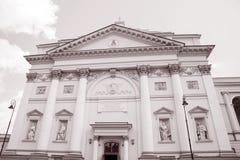 St Annes Church; Warsaw; Poland Stock Photos