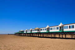 St Annes pier Stock Photo