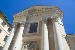 St. Ansano Church. Spoleto. Umbria. Stock Images