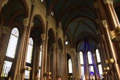 "ST Anthony της εκκλησίας της Πάδοβας, εναλλακτικά γνωστός ως Di Πάδοβα Sant ""Antonio στη Ιστανμπούλ, Τουρκία στοκ εικόνα με δικαίωμα ελεύθερης χρήσης"