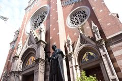 "ST Anthony της εκκλησίας της Πάδοβας, εναλλακτικά γνωστός ως Di Πάδοβα Sant ""Antonio στη Ιστανμπούλ, Τουρκία στοκ φωτογραφίες με δικαίωμα ελεύθερης χρήσης"