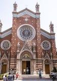ST Anthony της εκκλησίας της Πάδοβας, Ιστανμπούλ Στοκ Εικόνες
