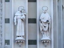 ST Anthony της Πάδοβας και ST Πάτρικ Στοκ Φωτογραφίες