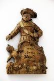 ST Anthony της Πάδοβας ως ναύαρχο στη μάχη του Οράν Στοκ φωτογραφία με δικαίωμα ελεύθερης χρήσης