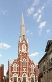 St Anthony av den Padua kyrkan Arkivbild