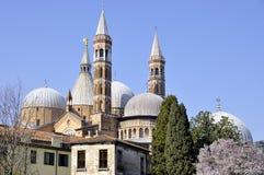 St Anthony basilika i Padova Royaltyfria Bilder