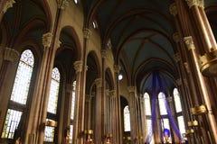 St Anthony da igreja de Pádua, conhecido alternativamente como o Sant 'Antonio di Padova em Istambul, Turquia imagem de stock royalty free