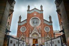 St Anthony de la iglesia de Padua foto de archivo libre de regalías