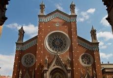 St Anthony della chiesa di Padova Fotografia Stock