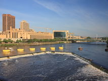 St Anthony falls in Minneapolis Royalty Free Stock Photos