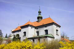 St. Anthony of Padua Church in Warsaw Stock Image