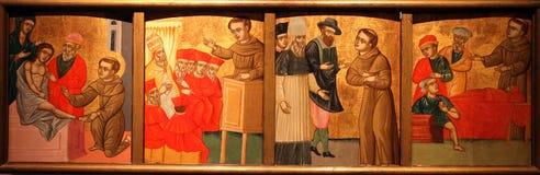 St. Anthony of Padua Stock Image
